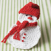 Bernat Snowman Gift Card Holder