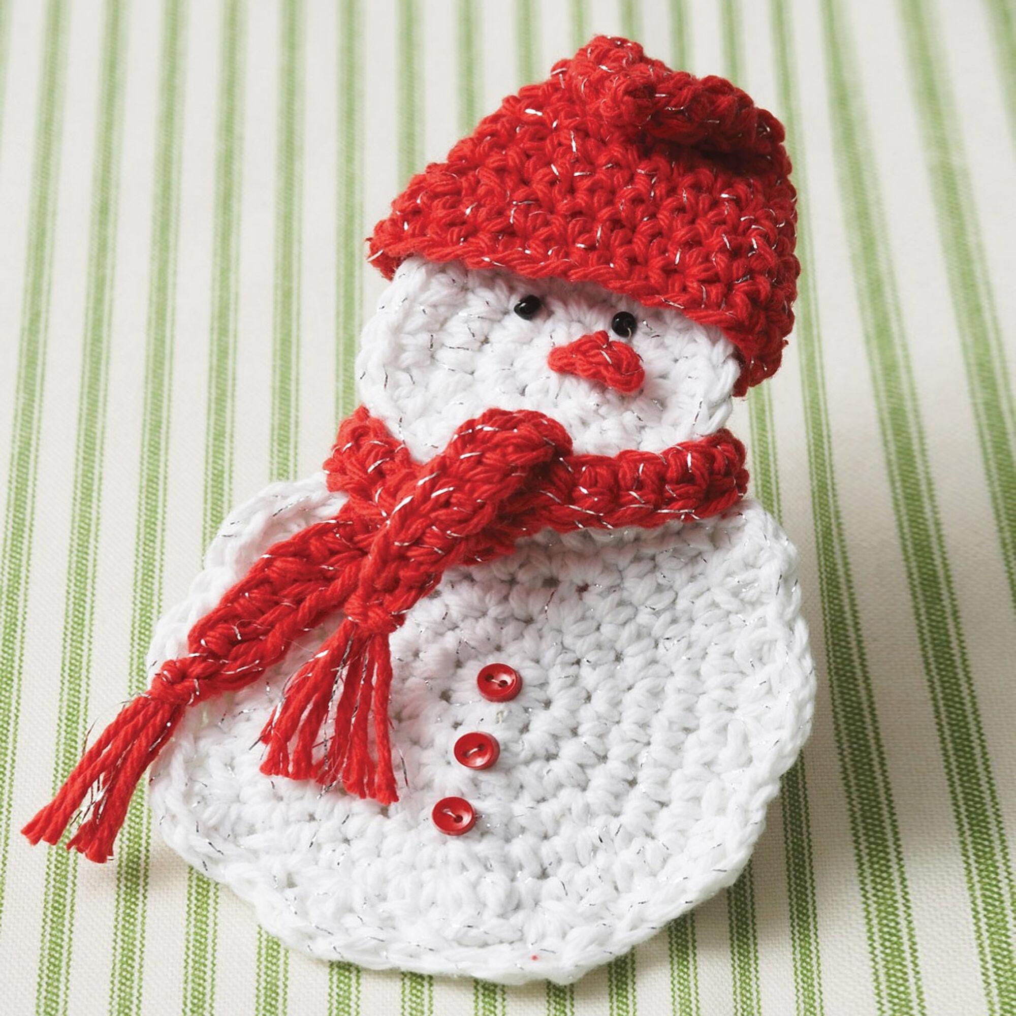 Bernat Snowman Gift Card Holder | Yarnspirations