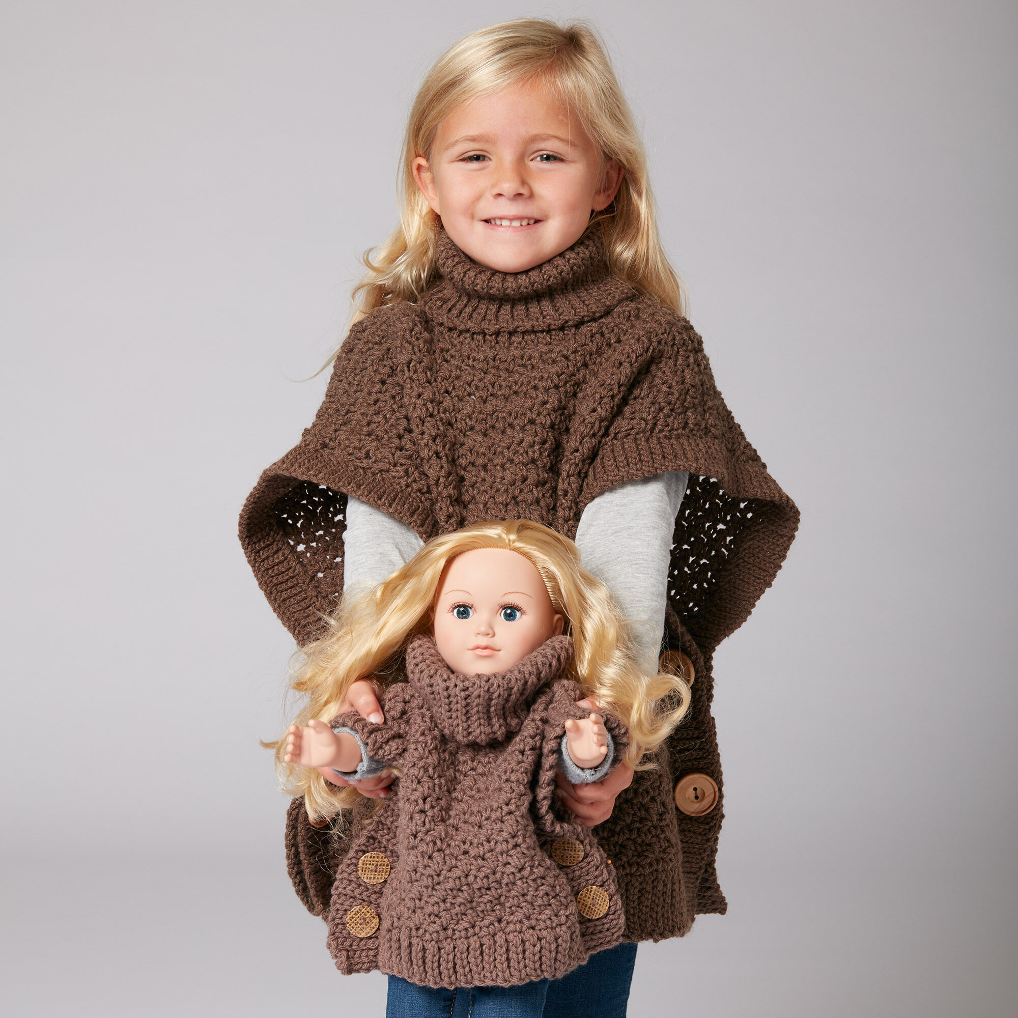 Bernat Poncho For You And Me | Yarnspirations