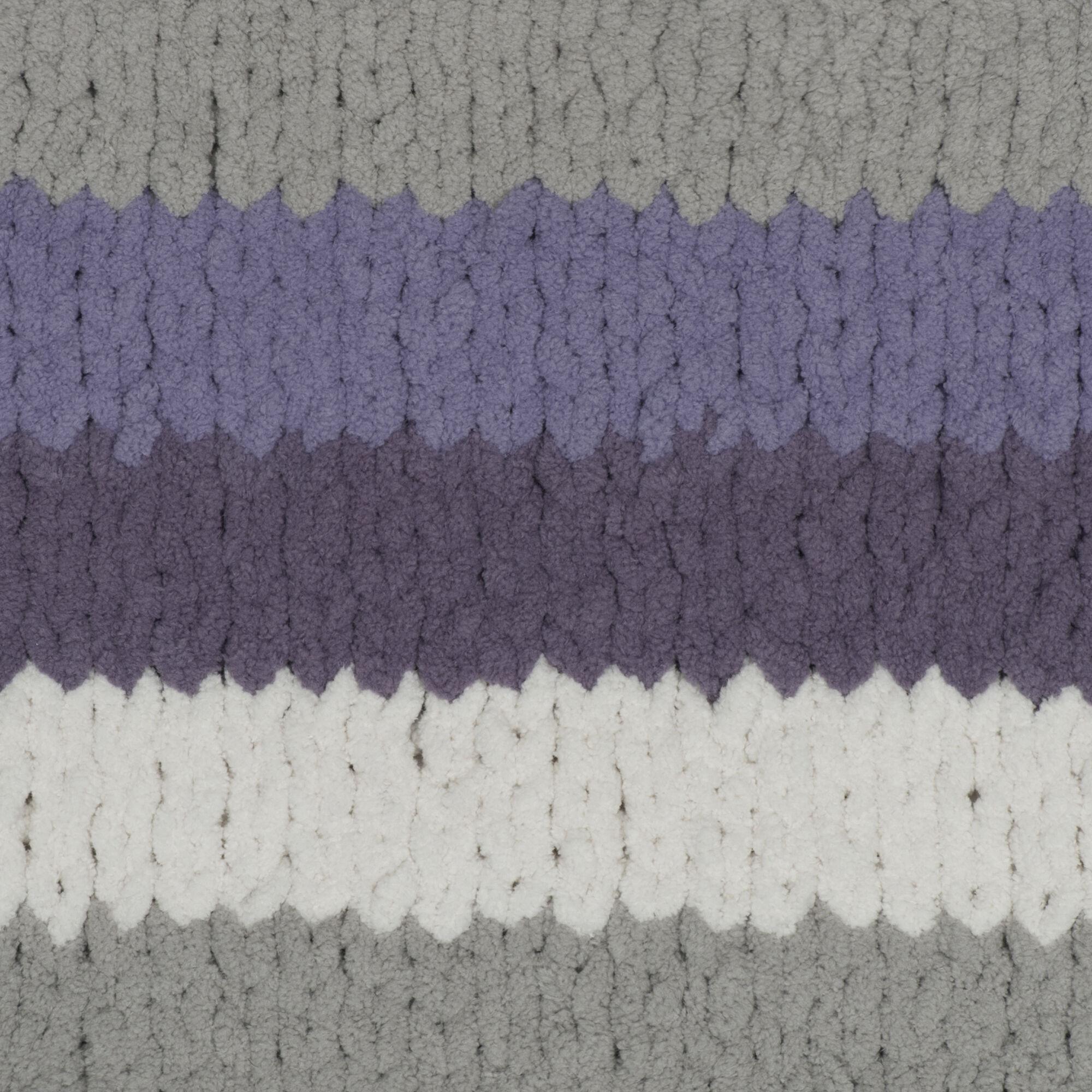 2 Pack Bernat Blanket Stripes Yarn-Grapevine