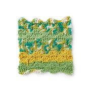 Lily Sugar'n Cream Rippling Wave Crochet Dishcloth