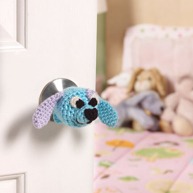 Red Heart Doggie Doorknob Cozy