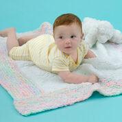Red Heart Spun Sugar Baby Blanket