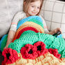 Bernat Over the Rainbow Crochet Snuggle Sack in color  Thumbnail Main Image 2}