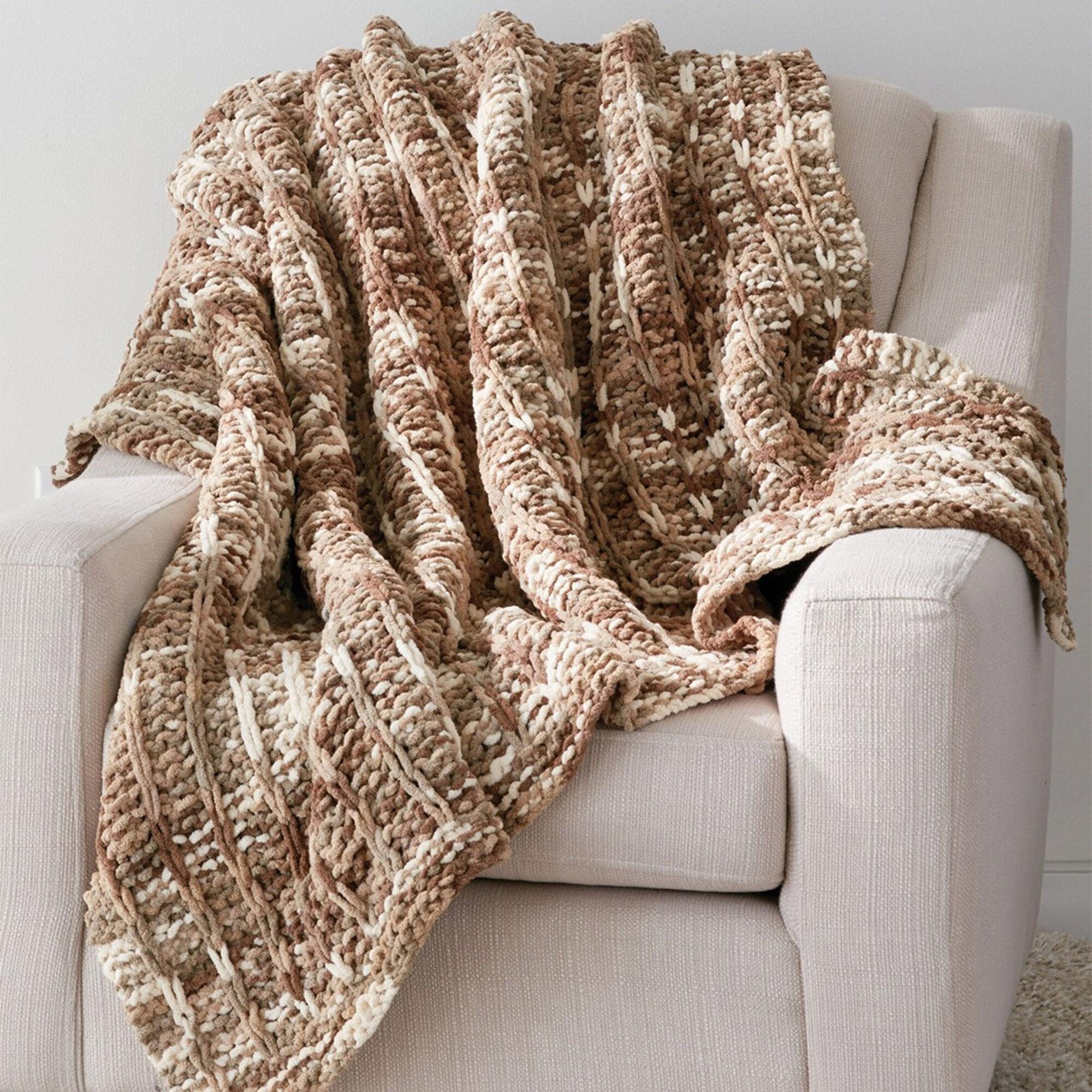 Bernat Slip Stitch Blanket | Yarnspirations
