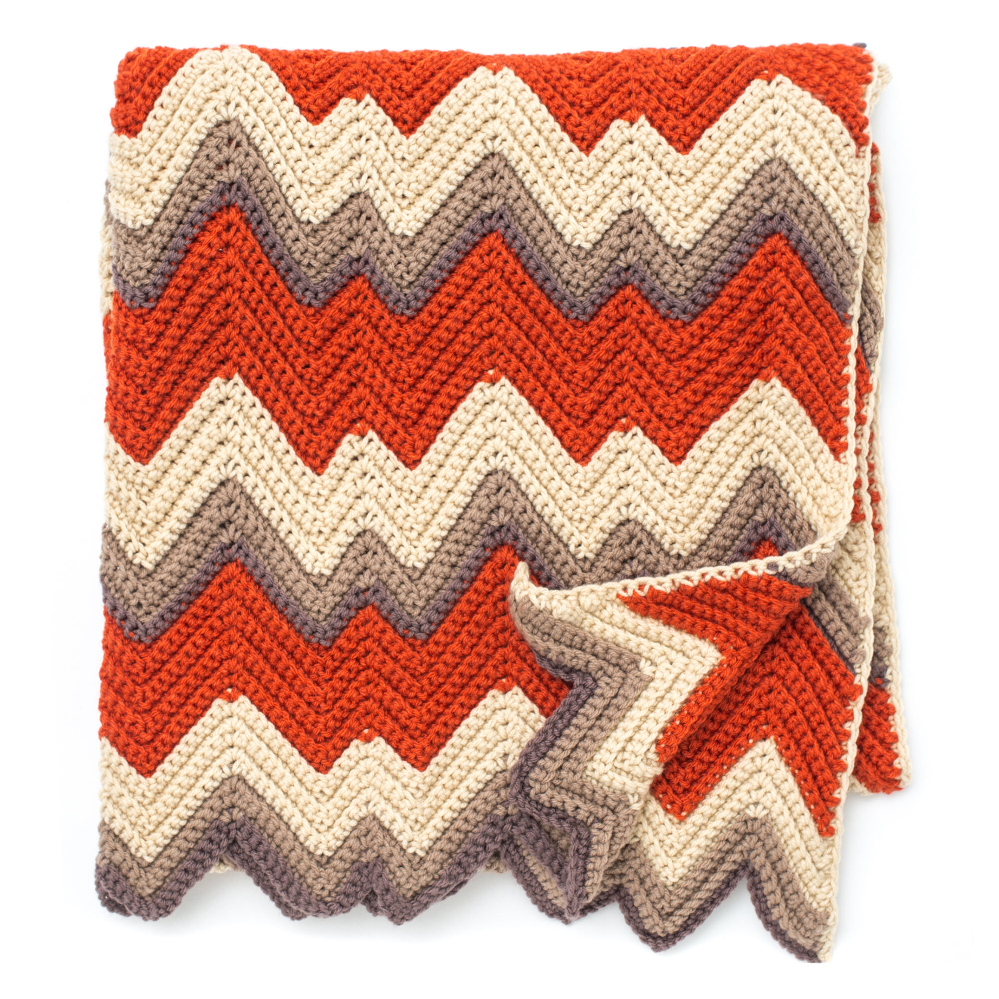 Zigzag Crochet Pattern Simple Design