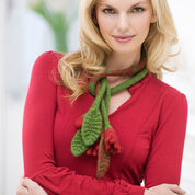 Go to Product: Red Heart Floral Felted Scarf in color