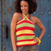 Go to Product: Red Heart Summer Striped Top, S in color