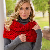 Go to Product: Red Heart Checkered Crochet Cowl in color