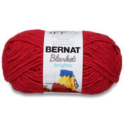 Bernat Blanket Brights Yarn (300g/10.5 oz), Race Car Red
