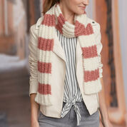 Go to Product: Red Heart Fluffy Rib Stitch Scarf in color