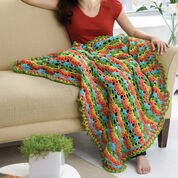 Red Heart Flamenco Fling Afghan