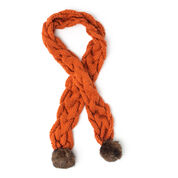 Go to Product: Bernat Snowdrift Cable Scarf in color