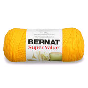 Go to Product: Bernat Super Value Yarn in color Bright Yellow