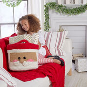 Red Heart Have a Cool Yule Knit Throw