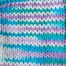 Lily Sugar'n Cream Super Size Ombres Yarn, Beach Ball Blue in color Beach Ball Blue Thumbnail Main Image 4}