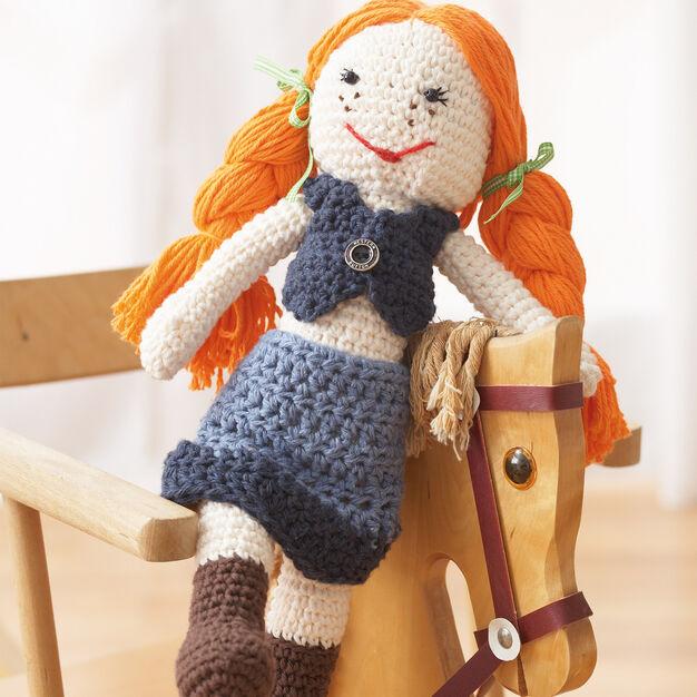 Lily Sugar'n Cream Denim Doll in color