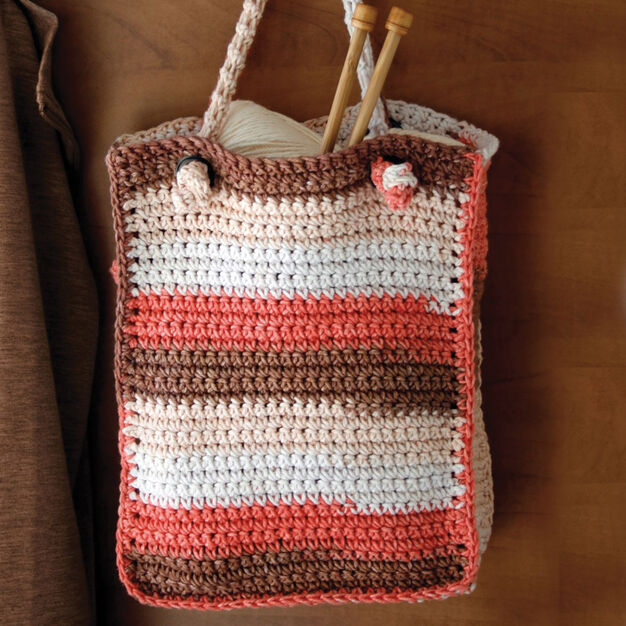 Lily Sugar'n Cream Stripes Bag in color
