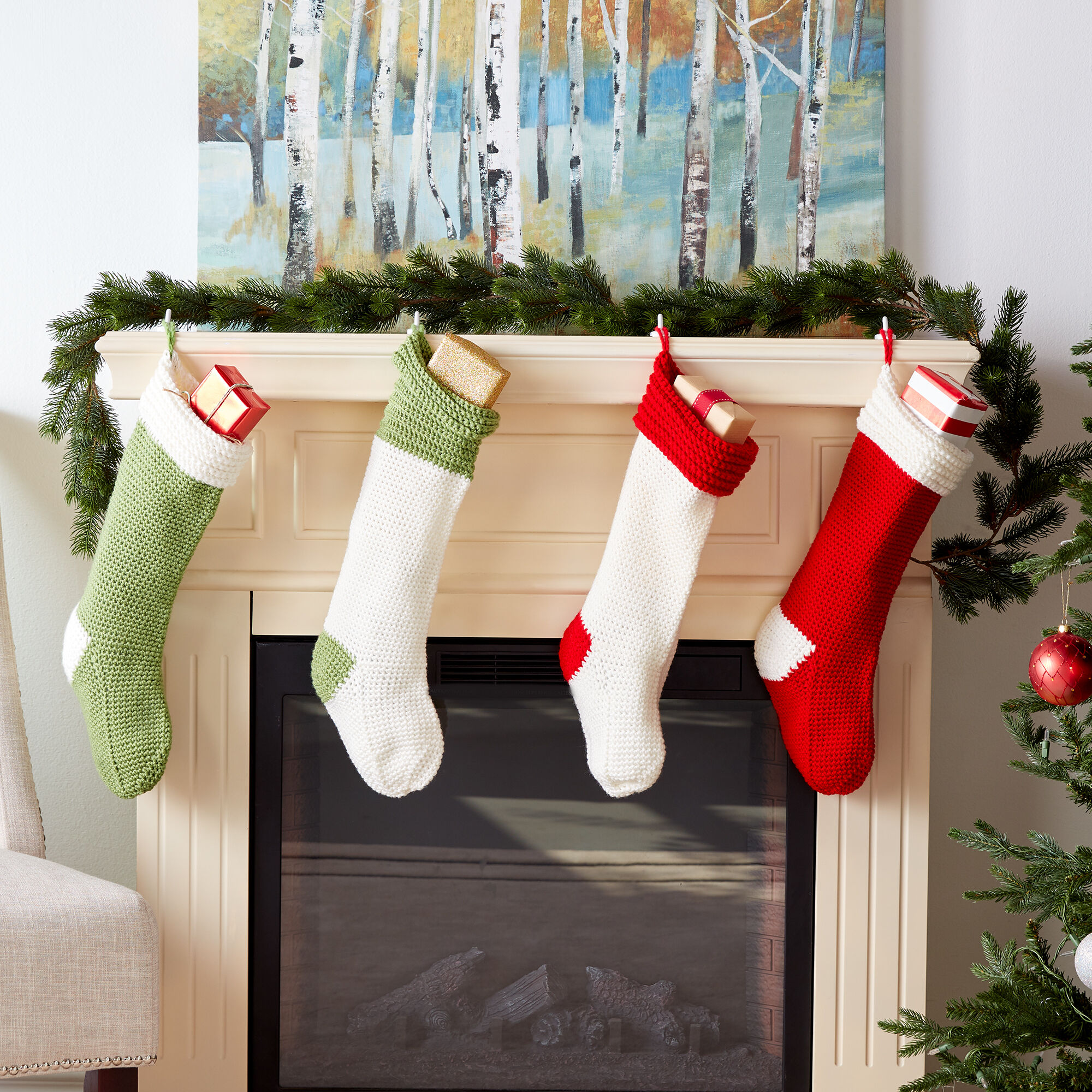 Free Crochet Holiday Christmas Stocking Pattern