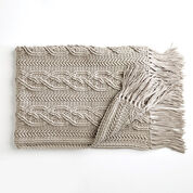 Go to Product: Bernat Crochet Cablework Blanket in color