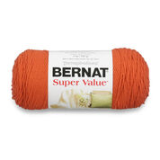 Bernat Super Value Yarn, Pumpkin - Clearance Shades*