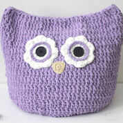 Bernat Oversized Owl Pillow to Crochet