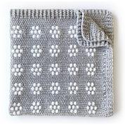 Go to Product: Bernat Velvet Flowers Crochet Baby Blanket in color