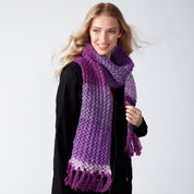 Go to Product: Caron Knit Herringbone Texture Scarf in color