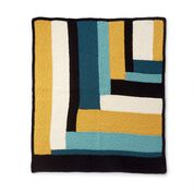 Go to Product: Bernat Parquet Pattern Knit Blanket in color