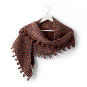 Sugar Bush Bitty Boomerang Crochet Shawl