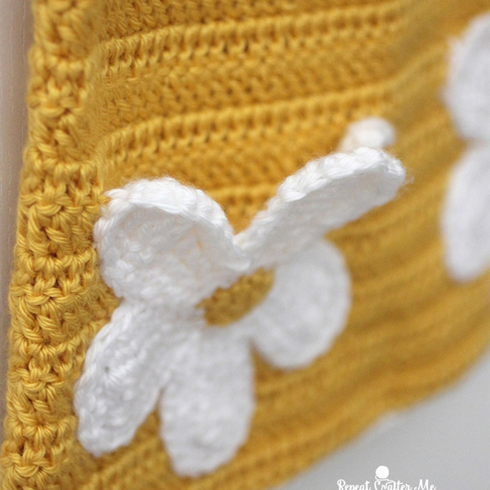 Caron crochet daisy dress yarnspirations caron crochet daisy dress izmirmasajfo