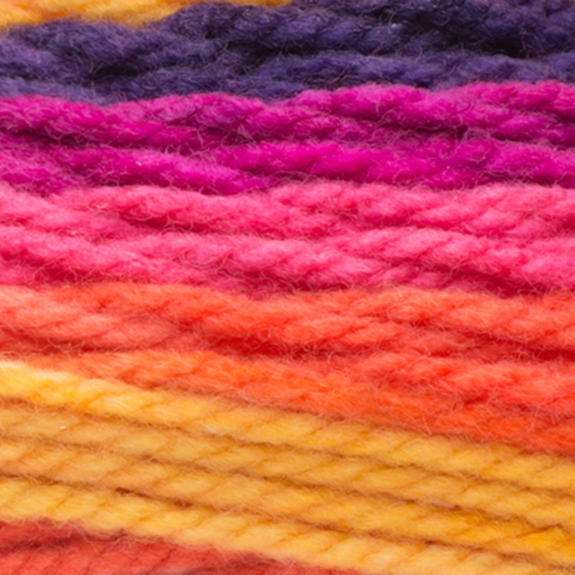 Caron Chunky Cupcakes Yarn, Berry Blast | Yarnspirations