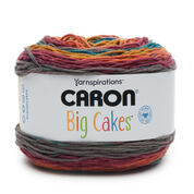 Go to Product: Caron Big Cakes Yarn, Toffee Brickle in color Toffee Brickle