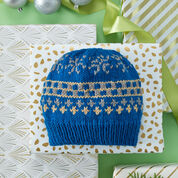 Go to Product: Red Heart Favorite Knit Fair Isle Hat, S in color