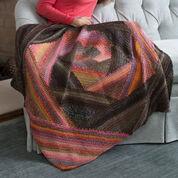 Red Heart Spiral Crochet Lapghan