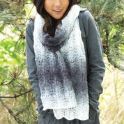 Patons Lofty Ripple Scarf