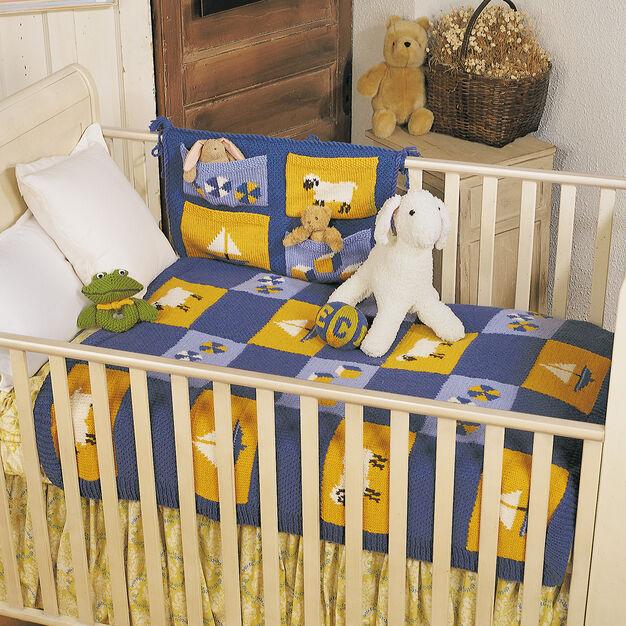 Patons Nursery Set, Blanket