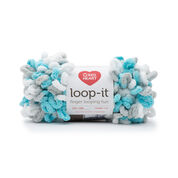 Go to Product: Red Heart Loop-It Yarn (100 g/3.5 oz) in color Play It Cool