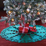 Bernat Christmas Tree Skirt in color  Thumbnail Main Image 1}