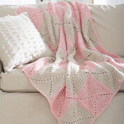 Lily Sugar'n Cream Twists Blanket