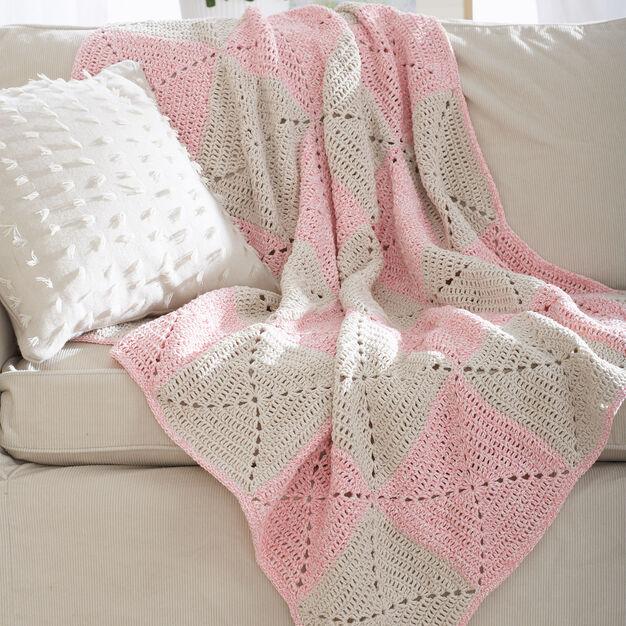Lily Sugar'n Cream Twists Blanket