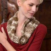 Go to Product: Red Heart Flowered Cowl in color