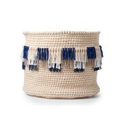 Bernat Fringe It Crochet Basket