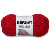 Go to Product: Bernat Blanket Yarn (150g/5.3 oz) in color Cranberry