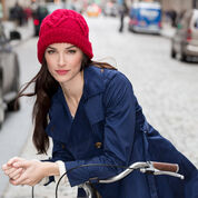 Go to Product: Red Heart Cabled Heart Hat in color