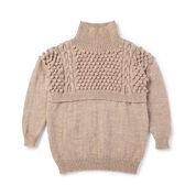 Patons Bobble Bodice Knit Tunic, XS/S