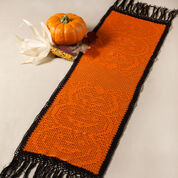 Aunt Lydia's Stacked Pumpkin Table Runner
