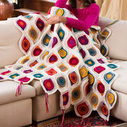 Go to Product: Red Heart Graphic Fall Throw in color