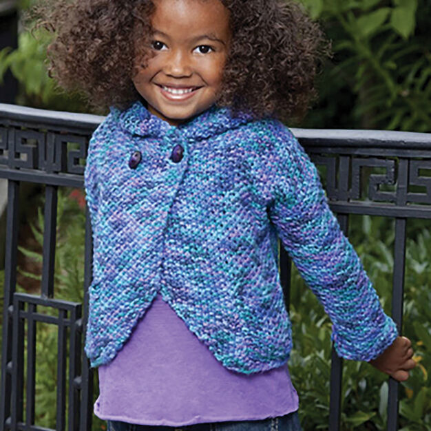 Caron Two-Button Hoodie, 6 yrs in color