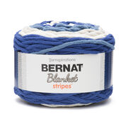 Go to Product: Bernat Blanket Stripes Yarn (300g/10.5 oz) in color Cape Cod